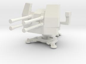 2cm Flakvierling 38 (deployed) 1/87 in White Natural Versatile Plastic