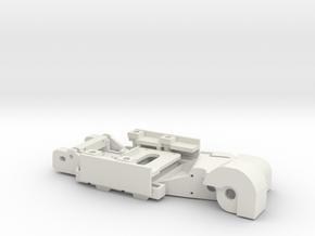 Mercedes 190E Evo II Slotcar BRM Camber System in White Natural Versatile Plastic