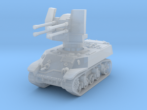 M3A3 with Flakvierling 38 1/160 in Smooth Fine Detail Plastic