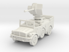 Horch 108 AA (Flak 38) (window up) 1/76 in White Natural Versatile Plastic