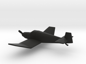 Jodel D.112 in Black Natural Versatile Plastic: 1:100