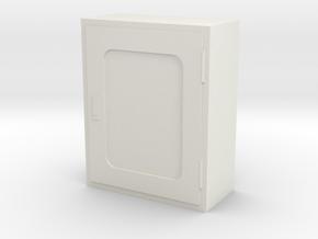 Fire Hose Box 1/12 in White Natural Versatile Plastic