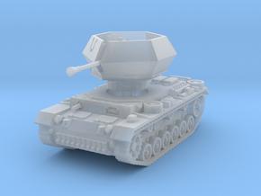 Flakpanzer III Ostwind 1/56 in Smooth Fine Detail Plastic