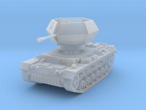 Flakpanzer III Ostwind 1/120 in Smooth Fine Detail Plastic