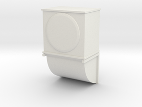 Wall Air Conditioning Unit 1/72 in White Natural Versatile Plastic