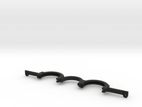 Trigun Sunglasses Frame (30mm lens) in Black Natural Versatile Plastic