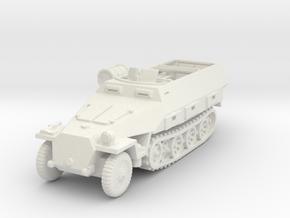 Sdkfz 251/8 D Ambulance 1/120 in White Natural Versatile Plastic