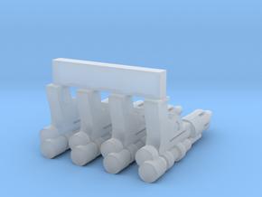 "PRHI Bespin Blaster for 1"" Figures in Smoothest Fine Detail Plastic"