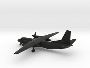 Antonov An-26 Curl in Black Natural Versatile Plastic: 1:350