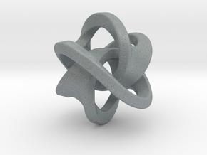 Soliton Pendant in Polished Metallic Plastic: Large