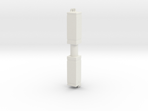 Drinking Fountain (x2) 1/35 in White Natural Versatile Plastic