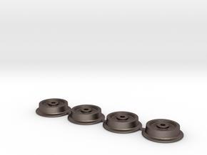 Rollbock Raeder 3mm V3.1 in Polished Bronzed Silver Steel: 1:22.5
