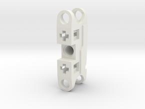 Bionicle Articulated Nuva Upper Limb in White Natural Versatile Plastic