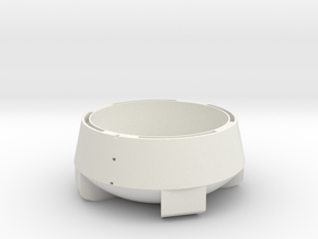 Life3D Weather Balloon Capsule - Base Section in White Natural Versatile Plastic