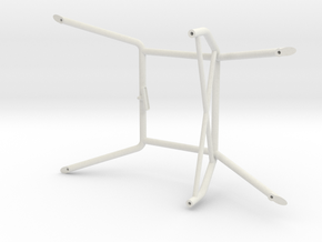 FF0102-01 Tamiya FF01 Interior Cage for LDH Int.  in White Natural Versatile Plastic