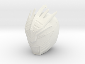 Drakkon Final Form Helmet - FA in White Natural Versatile Plastic
