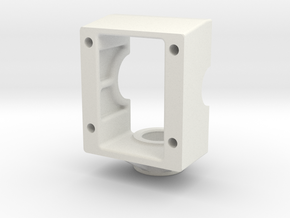 King Of Crushers Transmission Base in White Natural Versatile Plastic: 1:10