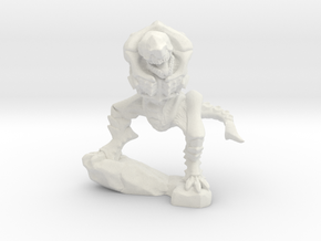 Arachnoidas Warrior Body 2 in White Natural Versatile Plastic