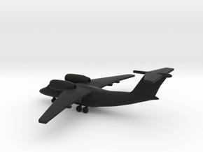 Antonov An-74 Coaler in Black Natural Versatile Plastic: 1:400