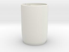 Share-screw   PART2 - BODY in White Natural Versatile Plastic