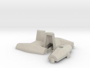 1:50 Dolos 3m mould kit in Natural Sandstone