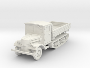 Ford V3000 Maultier late 1/72 in White Natural Versatile Plastic