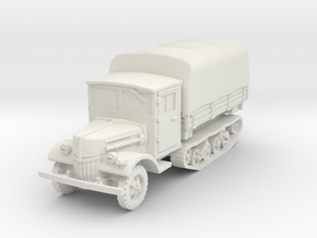 Ford V3000 Maultier late (covered) 1/87 in White Natural Versatile Plastic