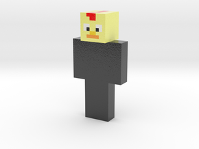 AndroidPaul | Minecraft toy in Glossy Full Color Sandstone