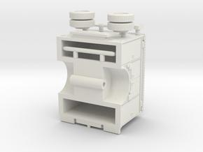 1/87 Light Rescue Body Compartment Doors in White Natural Versatile Plastic