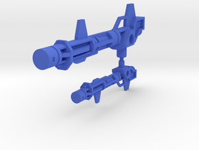 Metalhawk Jet Rifle in Blue Processed Versatile Plastic: Large