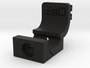 Contour Picatinny Mount for Pistol Bottom Rail in Black Natural Versatile Plastic