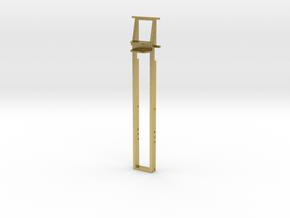 3-Achs-Rahmen Arocs // Mikroengineering in Natural Brass