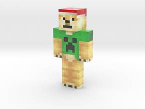 received_553905195402258 | Minecraft toy in Glossy Full Color Sandstone