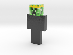 received_993894110810677 | Minecraft toy in Glossy Full Color Sandstone