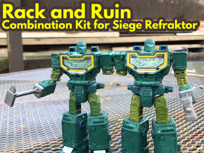 Refraktor to Rack n' Ruin Kit (Siege) in Smooth Fine Detail Plastic