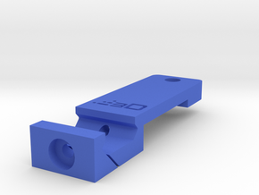 Digital Video Camera Tripod Mount for Pistol Botto in Blue Processed Versatile Plastic