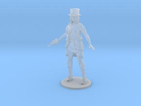 Steampunk Detective girl Survivor DnD miniature in Smooth Fine Detail Plastic
