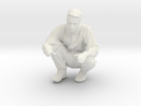 Printle T Homme 2458 - 1/48 - wob in White Natural Versatile Plastic