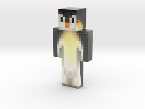 Fighter89 | Minecraft toy in Glossy Full Color Sandstone