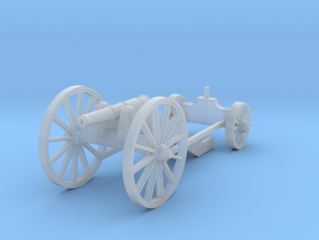 Carolean Cannon 1716 in Smooth Fine Detail Plastic: 1:56