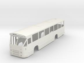 Streekbus MB200. Scale 1:43.5 in White Natural Versatile Plastic