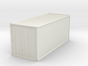 20 feet Container 1/56 in White Natural Versatile Plastic