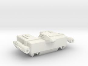 Omni Scale Lyran Small Auxiliary Cruiser (SAC) CVN in White Natural Versatile Plastic