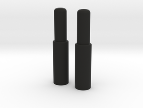 Aero Bar Extenders 70mm in Black Natural Versatile Plastic