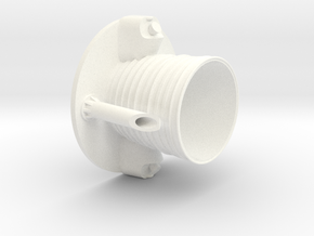 Thor Agena B-Nozzle in White Strong & Flexible Polished