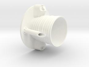 Thor Agena B-Nozzle in White Processed Versatile Plastic