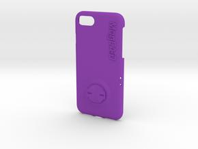 iPhone 8 Garmin Mount Case in Purple Processed Versatile Plastic