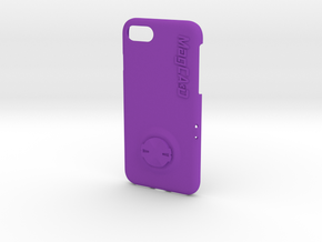 iPhone 8 & SE (2020) Garmin Mount Case in Purple Processed Versatile Plastic