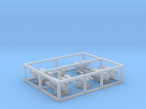 7000 Scale Lyran Fleet Utilities Collection CVN in Smooth Fine Detail Plastic