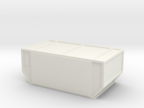 AAF Air Container (closed) 1/72 in White Natural Versatile Plastic